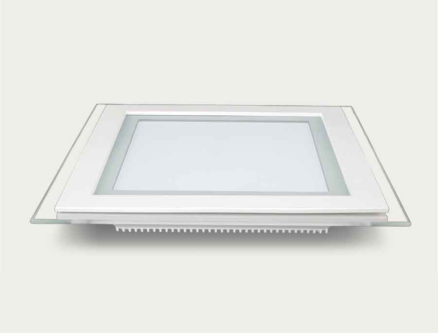 Smart 18W Glass LED Panel Light Round And